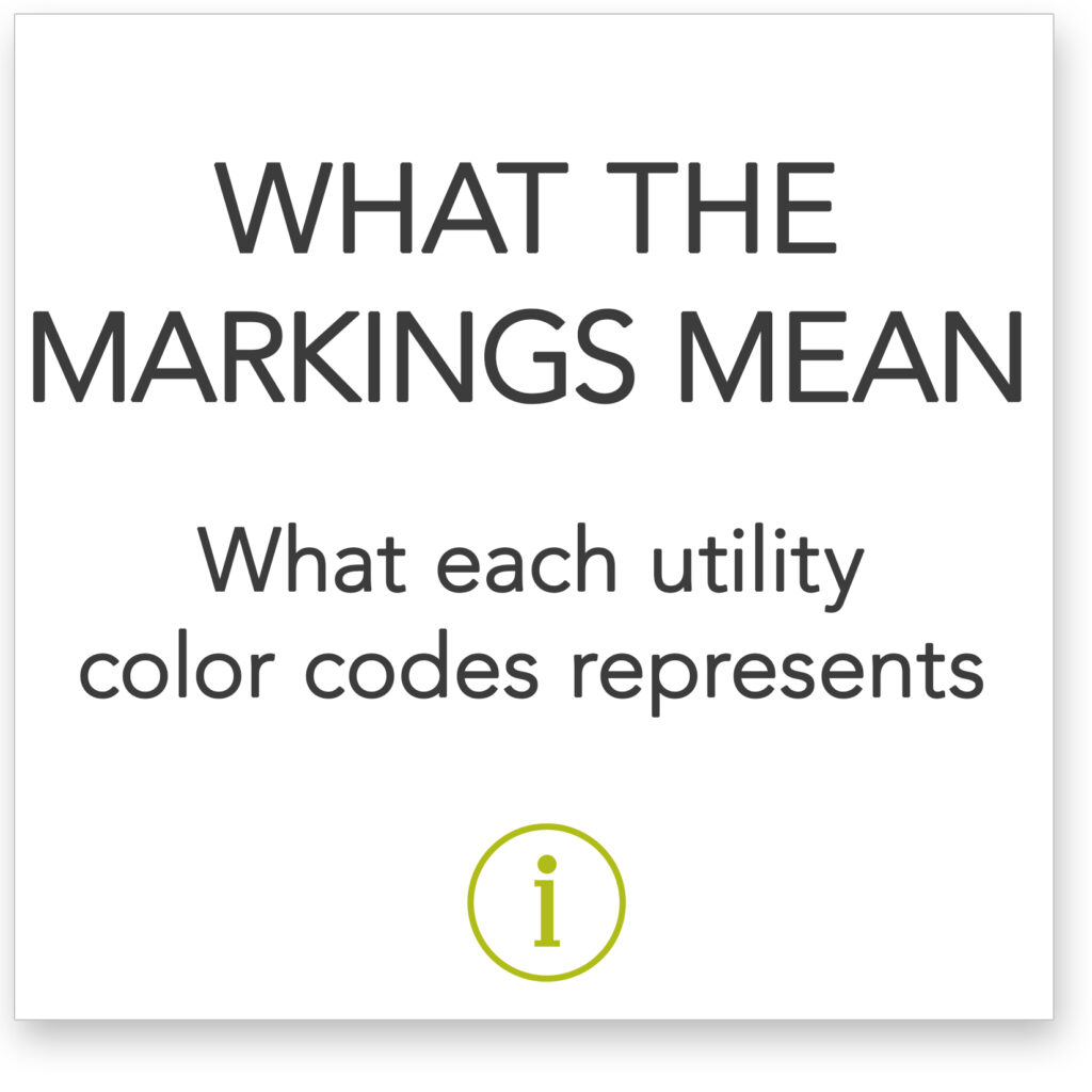 What each utility color code represents